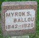 Myron S. Ballou