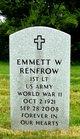 Profile photo:  Emmett Ward Renfrow