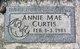 Annie Mae Curtis