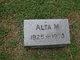Profile photo:  Alta M <I>Shaw</I> Studds