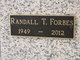 Profile photo:  Randall T. Forbes