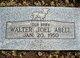 Profile photo:  Walter Joel Abell