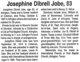 Jewel Josephine <I>Dibrell</I> Jobe