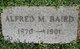 Profile photo:  Alfred M. Baird