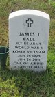 "Profile photo:  James Theodore ""Jim"" Ball"