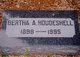 Bertha Alvina <I>Kattenhorn</I> Houdeshell
