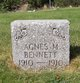 Profile photo:  Agnes May Bennett