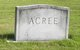 Profile photo:  Burton M Acree, Sr