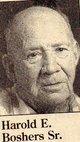 """Harold E. """"Big Bud"""" Boshers, Sr"""