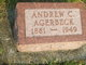 """Andrew Christian """"Andy"""" Agerbeck"""