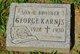 Profile photo:  George Karnis