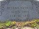 Beulah Braswell <I>Nichols</I> Allen Drye