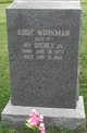 Addie <I>Workman</I> Cheney