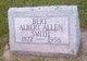 "Profile photo:  Albert Allen ""Bert"" Smith"