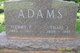 Profile photo:  Thais J <I>Van Meter</I> Adams