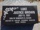 Luke Justice Brown