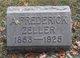 Profile photo:  A Frederick Zeller