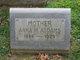 Profile photo:  Anna May <I>Schaeffer</I> Addams