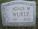 Agnes M Wurtz