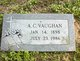 Profile photo:  A. C. Vaughan
