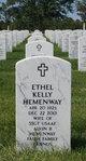 Ethel Eileen <I>Kelly</I> Hemenway