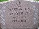 Margaret <I>Shaw</I> Mayerat