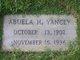 Profile photo:  Abuela <I>Honour</I> Yancey