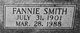 Fannie <I>Smith</I> Brunson