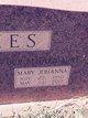 Mary Johanna <I>Massman</I> Faries