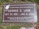 Profile photo:  George C. Leon