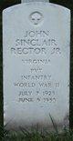 Profile photo:  John Sinclair Rector