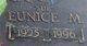 "Profile photo:  Eunice Maurice ""Sue"" <I>Gossett</I> Carpenter"