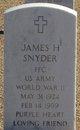 Profile photo:  James H Snyder