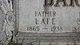 """Lafayette """"Lafe"""" Bartlett"""
