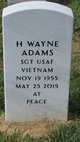 H Wayne Adams