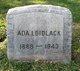 Profile photo:  Ada Irene <I>Schier</I> Bidlack