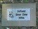 Profile photo:  Infant Jane Doe