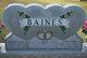 """Profile photo:  Ernest Ray """"Kak"""" Baines"""