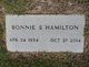 Profile photo:  Bonnie <I>King</I> Hamilton