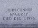 "Profile photo:  John Conner ""Jack"" McGurty"