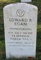 Profile photo:  Edward Robert Egan