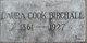 Laura <I>Cook</I> Birchall