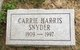 Carrie Harris Snyder