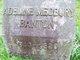 Profile photo:  Adeline <I>Medbury</I> Banton