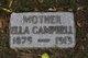 Profile photo:  Ella C. <I>Wild Hurd</I> Campbell
