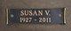 Susan Audrey <I>Vance</I> Cornwell