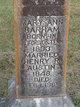 Profile photo:  Mary Ann <I>Barham</I> Austin
