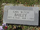"Profile photo:  Carl ""Butch"" Bailey"