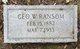 George W. Ransom