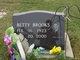 Profile photo:  Betty <I>Abernathy</I> Brooks